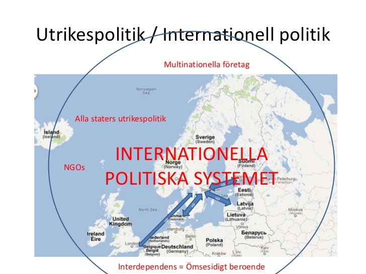 Utrikespolitik / Internationell politik                               Multinationella företag     Alla staters utrikespoli...