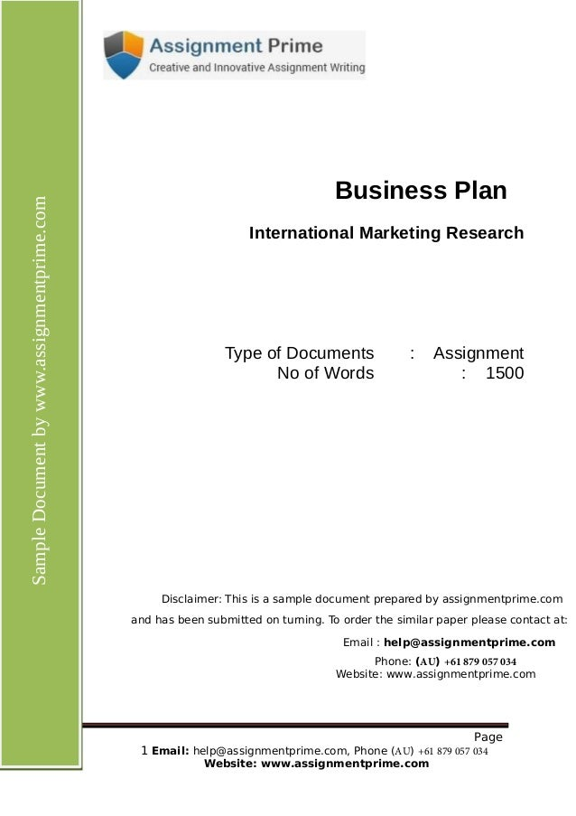 International and Global Marketing