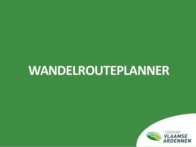 Interne beurs Toerisme Vlaamse Ardennen_16-02-2017_wandelen