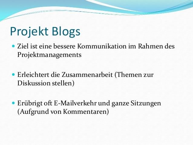 Interne Blogs für Präsentation Slide 3