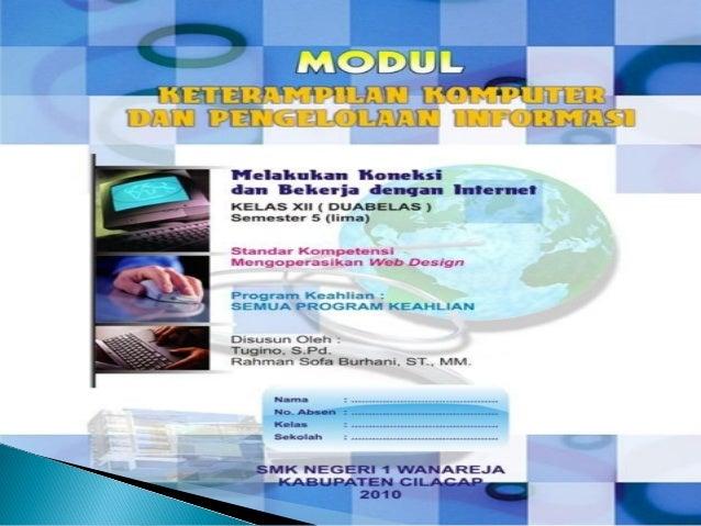 Internet (Interconnected Network merupakan sekumpulan jaringan komputer yang menghubungkan berbagai macam situs.