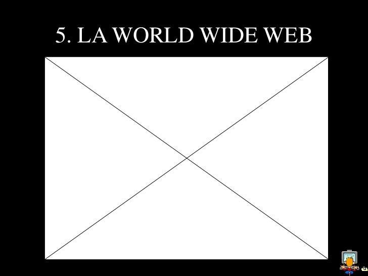 5. LA WORLD WIDE WEB Sir Timothy John    Berners-LeeConocido como elpadre de la Web, esun informático teóricoinglés gradua...