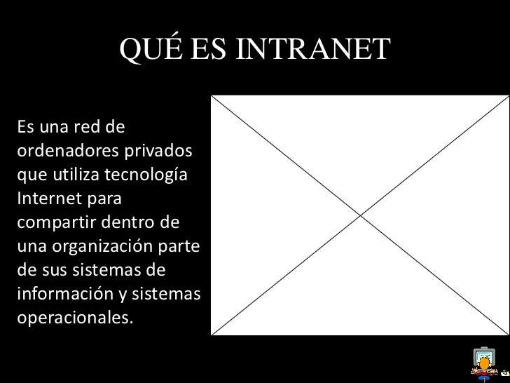 QUÉ ES EXTRANETEs una red externa decolaboración que utilizatambién la tecnología Internet.Son el puente entre la redpúbli...