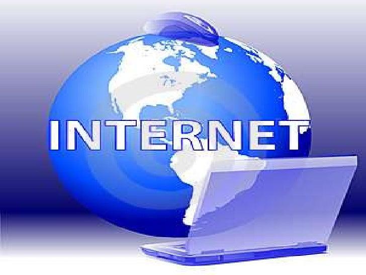    Internet es un conjunto descentralizado            de redes de comunicación     interconectadas que utilizan la famili...