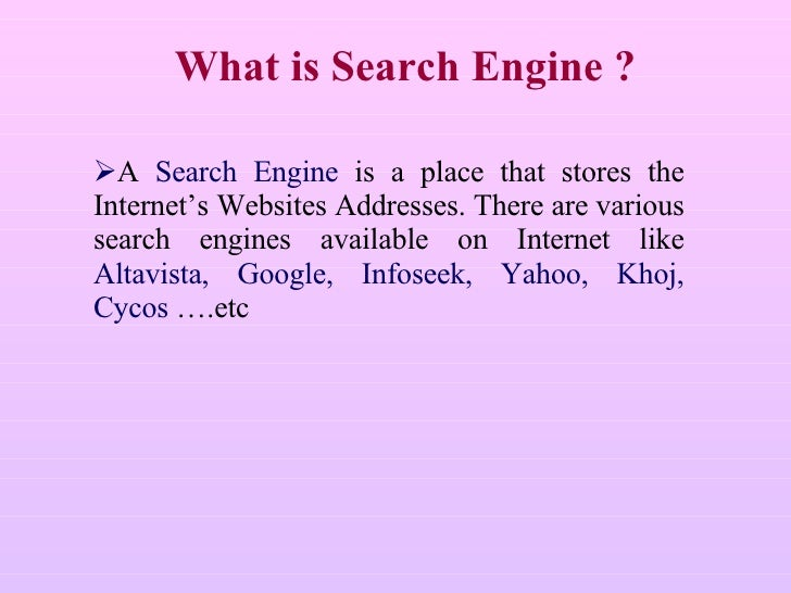 The search engine of infoseekcom