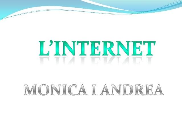 LA HISTÒRIA D´INTERNETLa història dInternet es basa en unaxarxa de caràcter militar creada pelDepartament de Defensa dels ...
