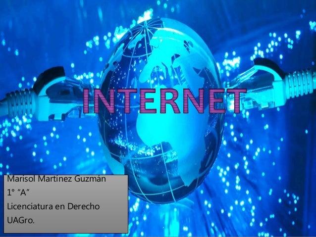 """Marisol Martínez Guzmán  1° """"A""""  Licenciatura en Derecho  UAGro."""