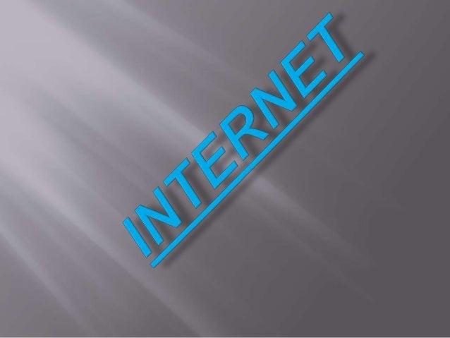  es un conjunto descentralizado de redes de  comunicación interconectadas que utilizan la familia de  protocolos TCP/IP, ...