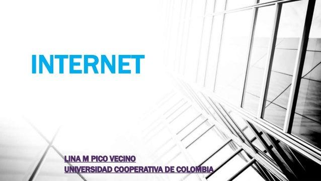INTERNET LINA M PICO VECINO UNIVERSIDAD COOPERATIVA DE COLOMBIA