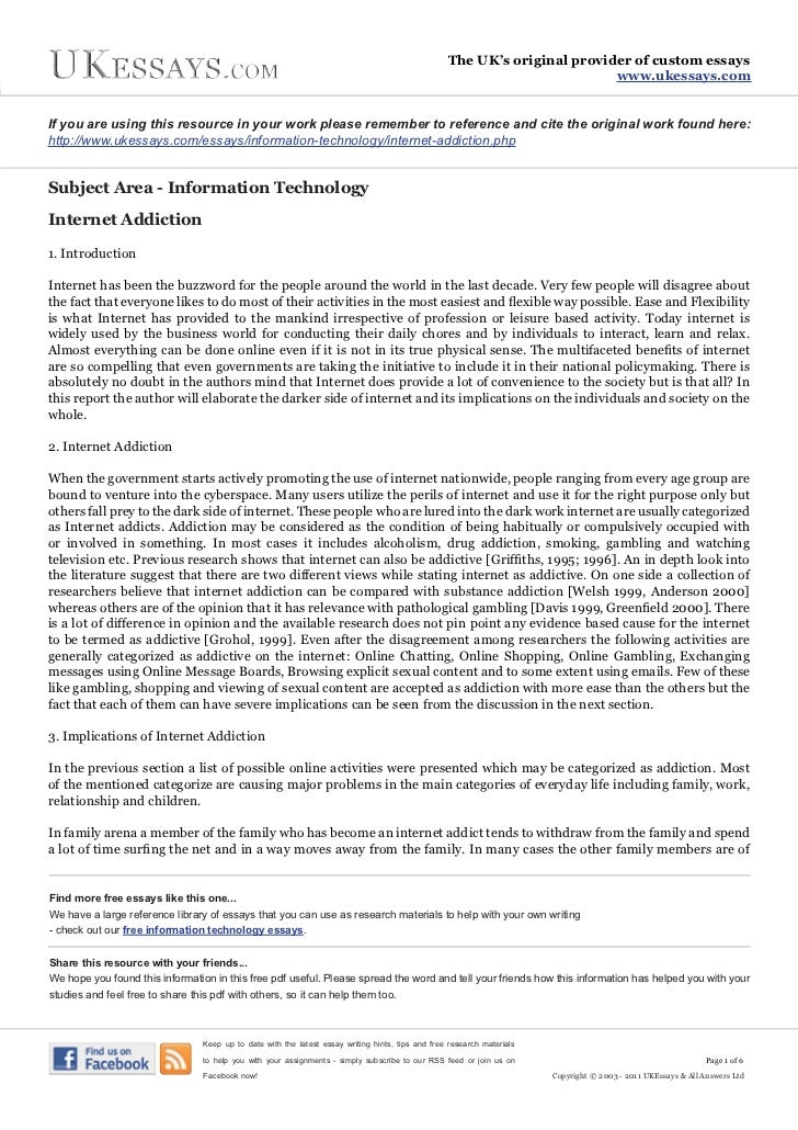 458 Words Essay on information technology