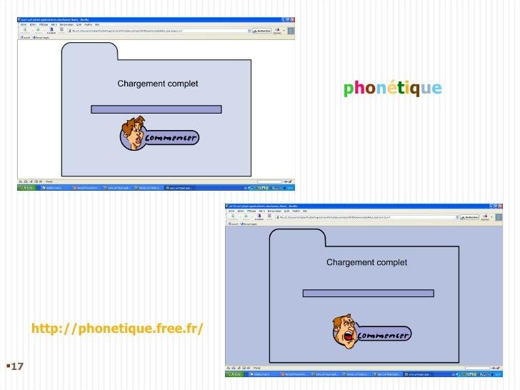 p h o n é t i q u e http://phonetique.free.fr/ <ul><li></li></ul>
