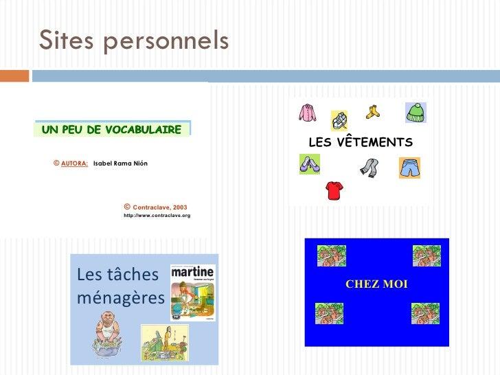 Sites personnels