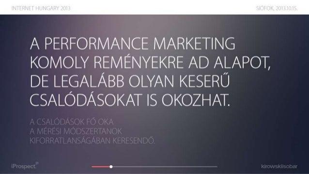 Mérés vagy méricskélés? - Internet Hungary 2013 Slide 3