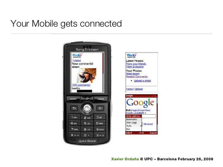 Your Mobile gets connected