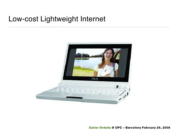 Low-cost Lightweight Internet