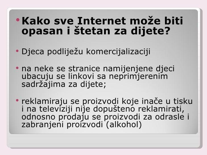 Internetsko druženje štetan je govor