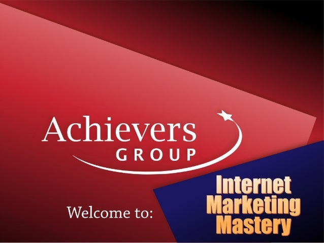 Internet marketing-mastery