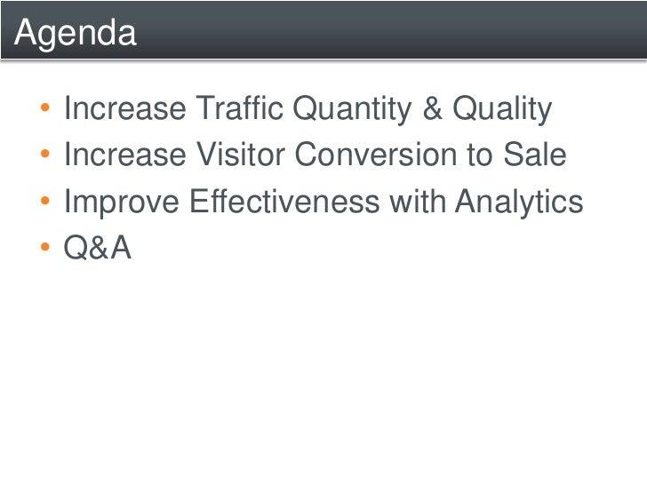 Internet Marketing Strategies for Ecommerce Websites Slide 2
