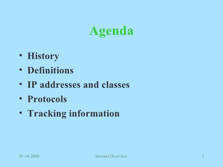 Internet Overview Slide 2