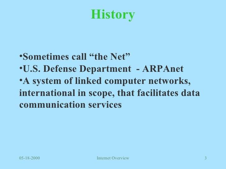 Internet Overview Slide 3