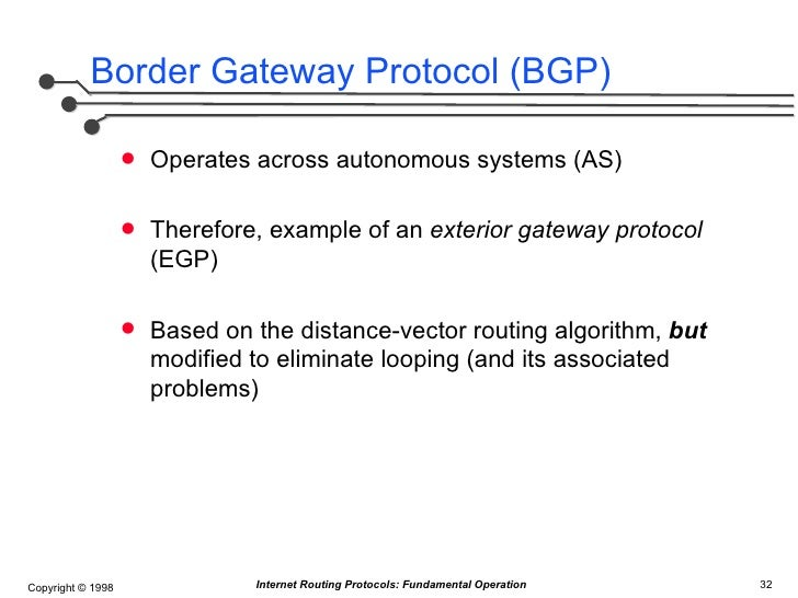Internet Routing Protocols Fundamental Concepts Of Distance Vector A