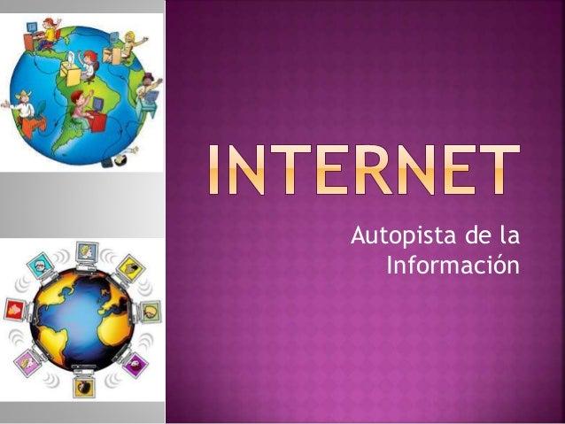 Autopista de la  Información