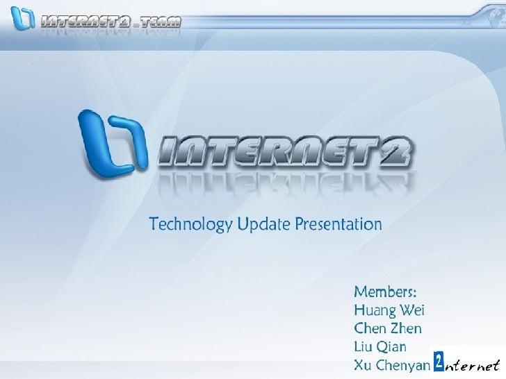 Internet2 Slide 1