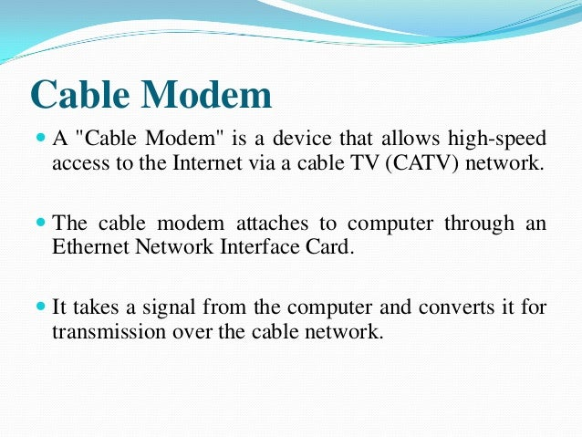 essay on cable tv