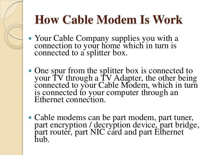 internet access via cable tv network pdf