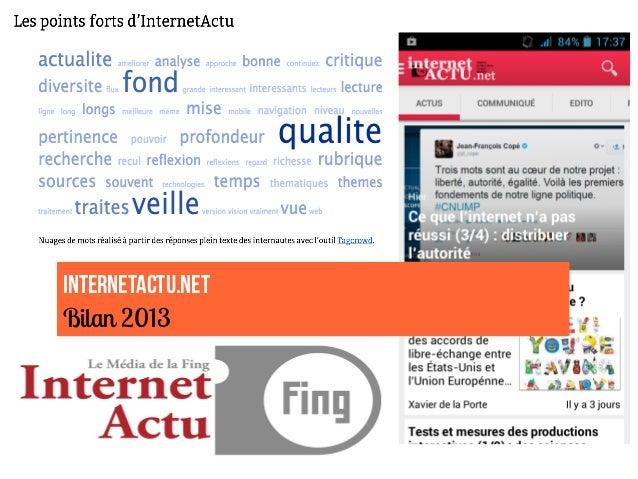 InternetActu.net Bilan 2013