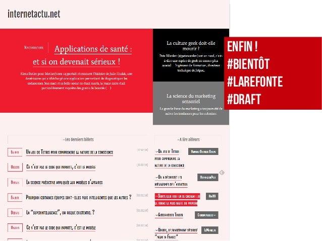ENFIN! #Bientôt #LaRefonte #DRAFT