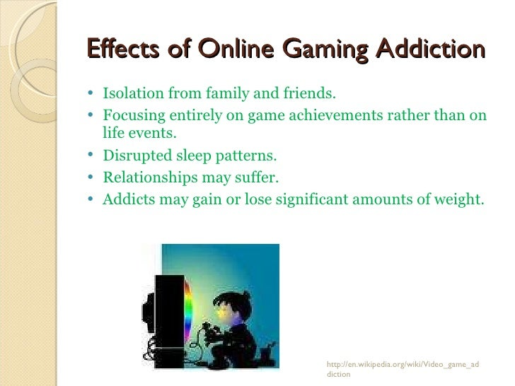 computer gaming addiction essay Iep writing skills 12 march 2013 video game addiction: life related video game addiction is the action of playing video games or computer games excessively and compulsively to the extreme that can make one forget the real world and live in the virtual world addictive behavior is defined by six main aspects: salience, mood modification .