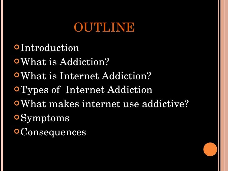 Essays about internet addiction