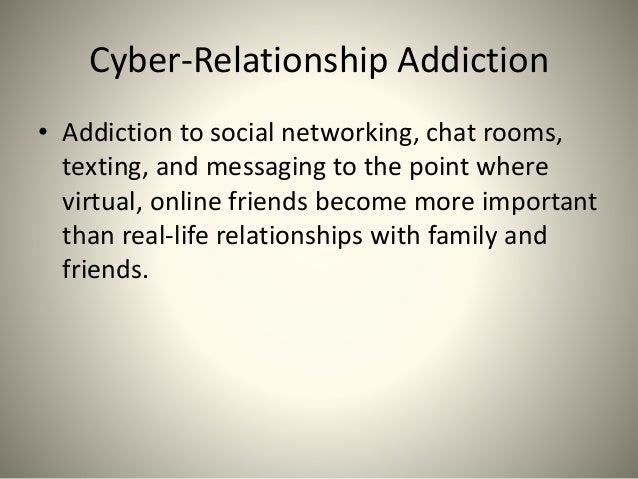 cyber relationship addiction