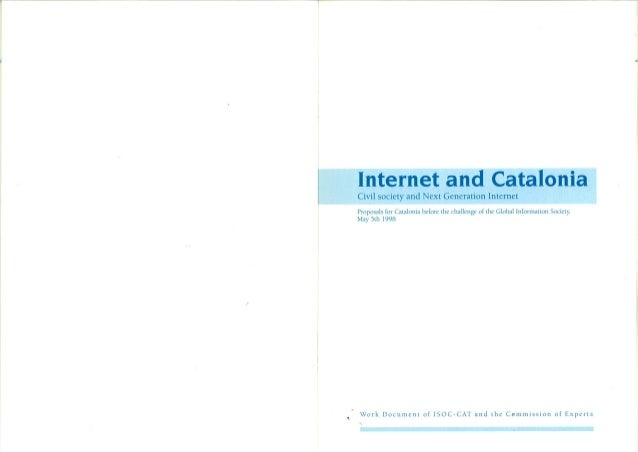 Internet and catalonia 1998