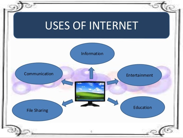 Internet and computer