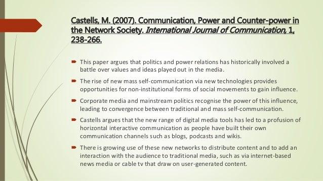 THE NETWORK SOCIETY CASTELLS EPUB