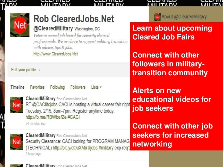 45. Learn About Upcoming Cleared Job ...