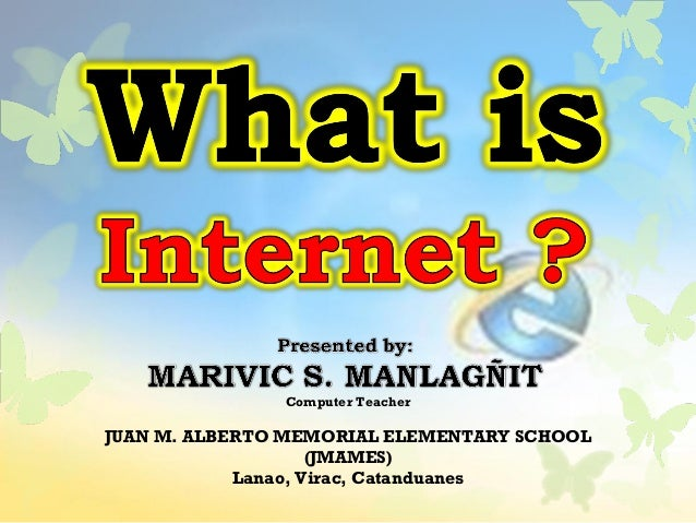Computer Teacher JUAN M. ALBERTO MEMORIAL ELEMENTARY SCHOOL (JMAMES) Lanao, Virac, Catanduanes