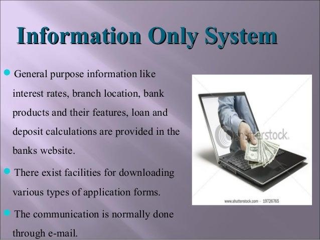 Internet Banking Ppt Presentation