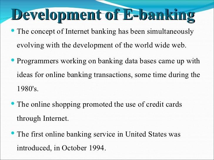 Internet banking Slide 3