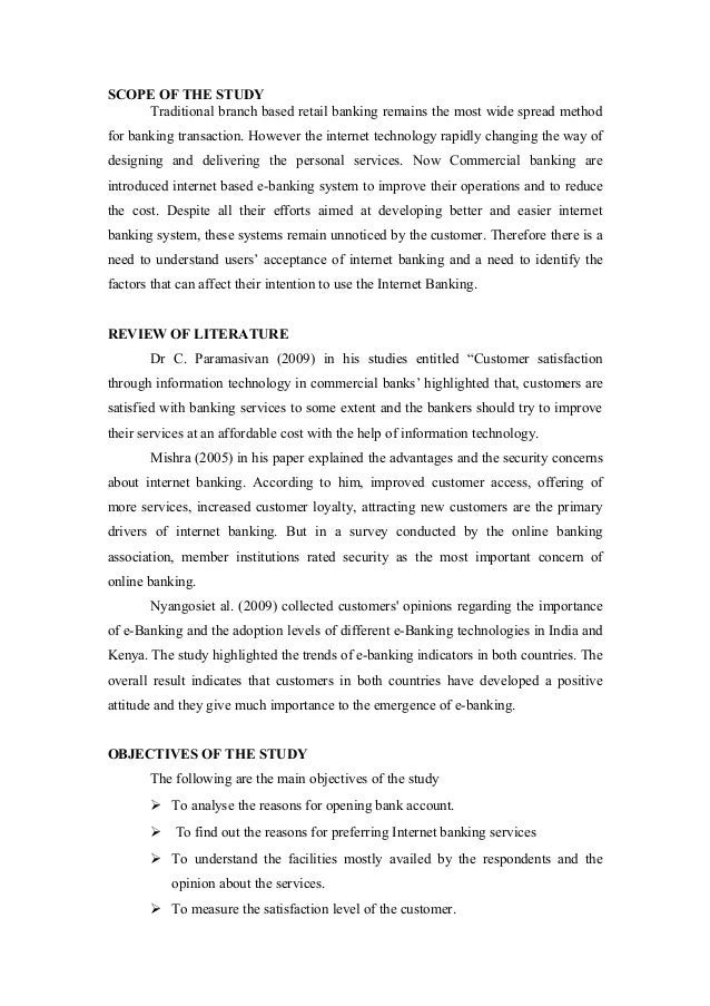 Essay about internet banking