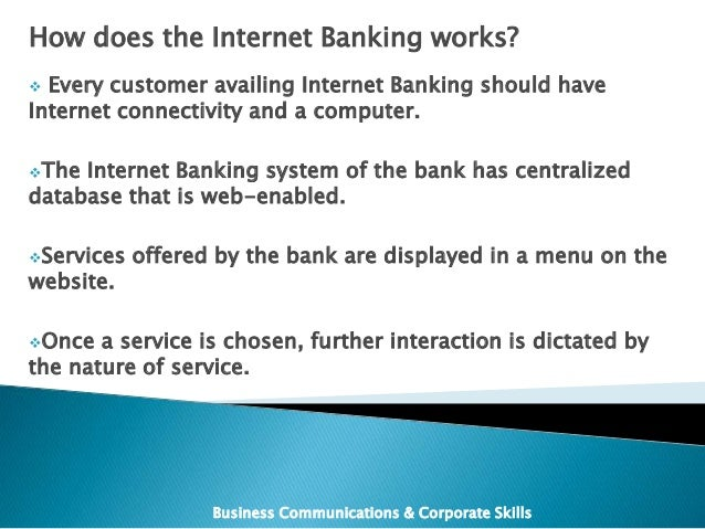 pros and cons of internet banking information technology essay It allows you to conduct various transactions using the bank's website and offers  several advantages some of the advantages of internet.