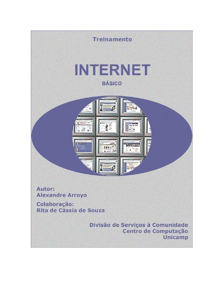 Internet – Básico                                       /LFHQFLDPHQWR GH 8VR   Este documento é propriedade intelectual © ...