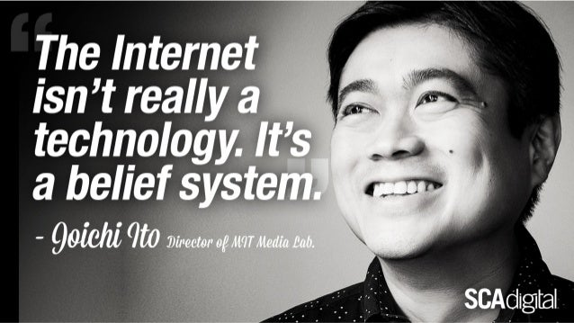'Internet is a belief system'