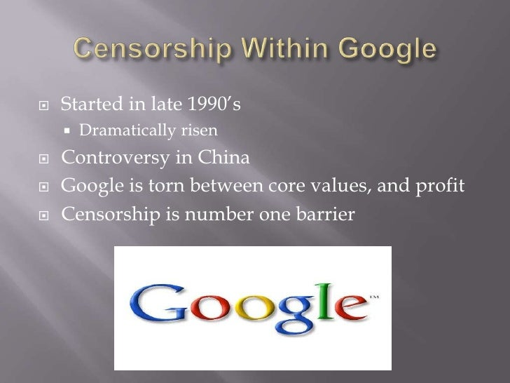 Internet censorship in the United States