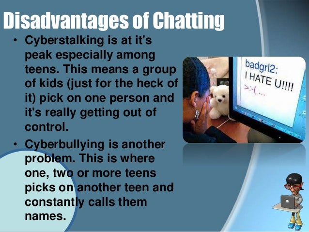 Internet chat.