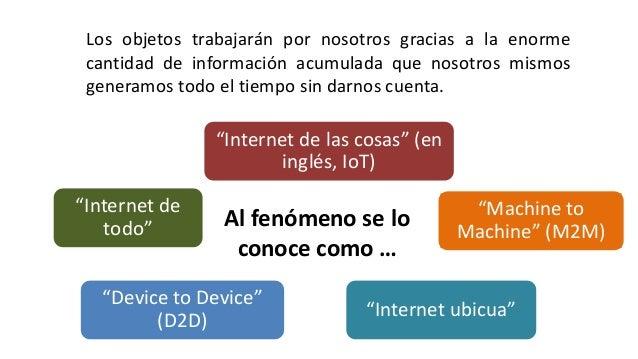 Introduccion al Internet  de las cosas Slide 2