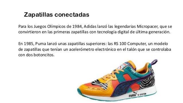 Zapatillas conectadas Para los Juegos Olímpicos de 1984, Adidas lanzó las legendarias Micropacer, que se convirtieron en l...