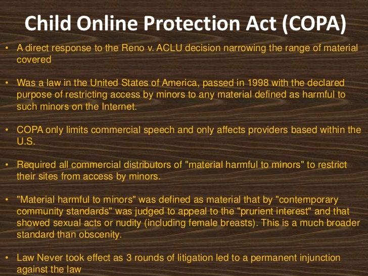 Reno v. American Civil Liberties Union   mediacoalition